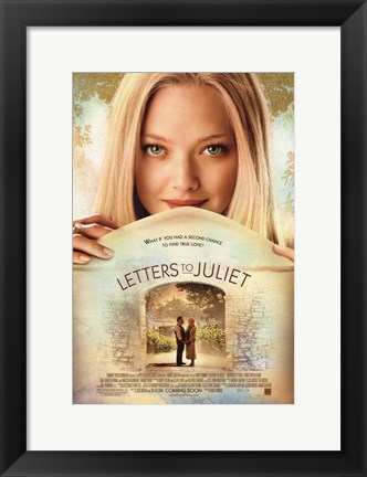 Framed Letters to Juliet - style A Print
