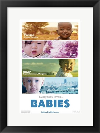 Framed Babies - style A Print
