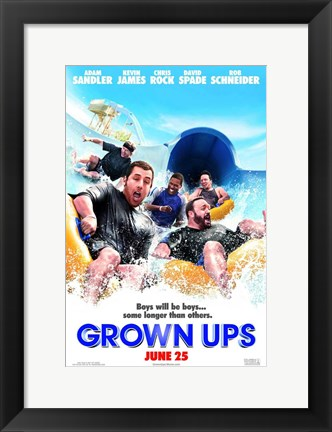 Framed Grown Ups - style B Print