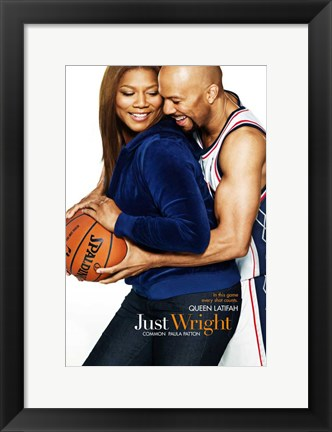 Framed Just Wright - style A Print