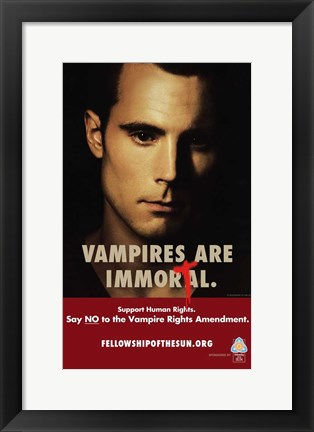 Framed True Blood - Immortal - style H Print