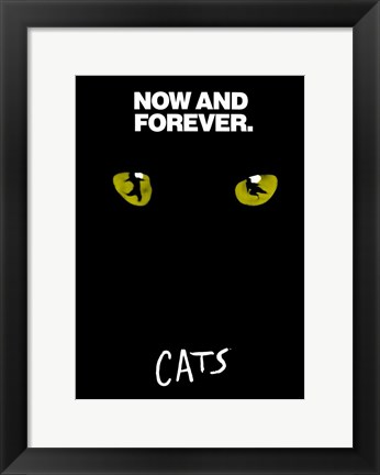 Framed Cats (Broadway) - style D Print