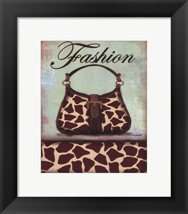 Framed Exotic Purse I - mini Print