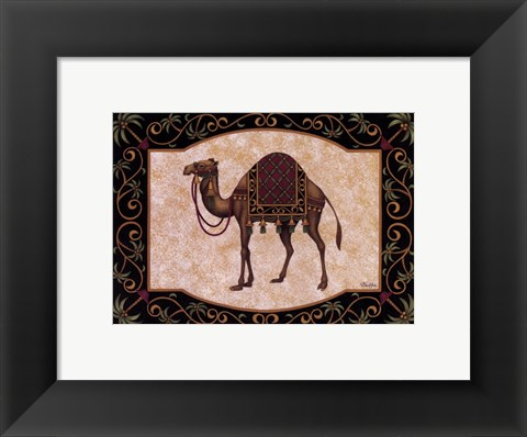 Framed Travel In Tunisia Print