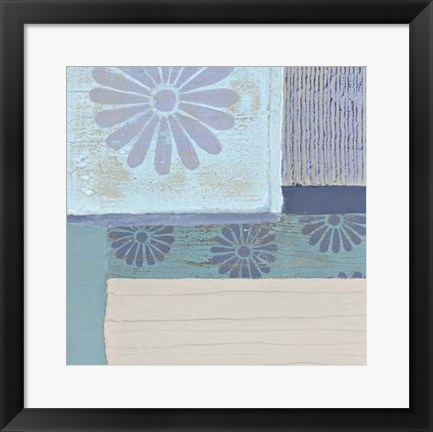 Framed Decorative Asian Abstract II Print