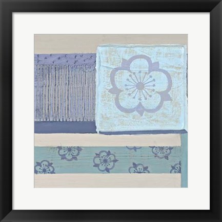 Framed Decorative Asian Abstract III Print