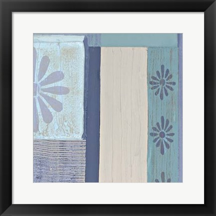 Framed Decorative Asian Abstract IV Print