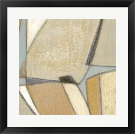 Framed Structured Abstract II Print