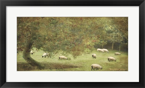 Framed English Countryside IV Print