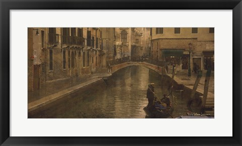 Framed Tour of Venice III Print
