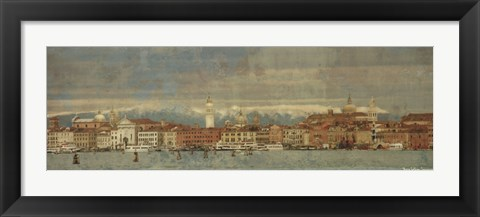 Framed Tour of Venice VII Print