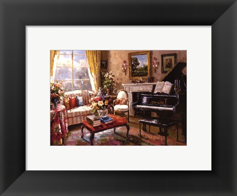 Framed Music Room Print