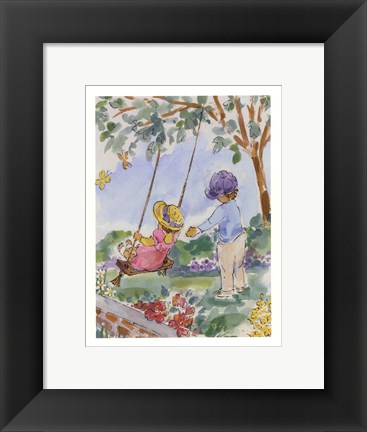 Framed luntz collection - Best Of Friends I Print
