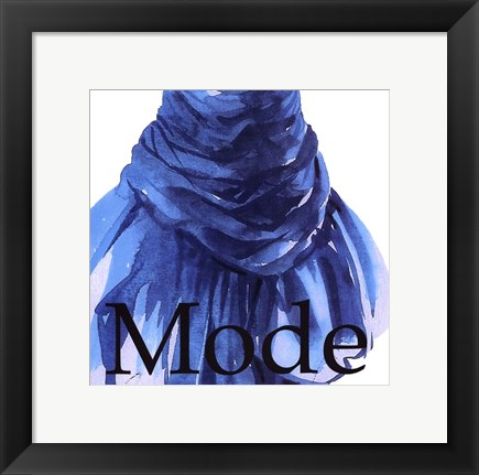 Framed Fashion Mode Print