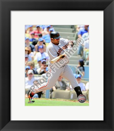 Framed Pablo Sandoval 2010 Action Print