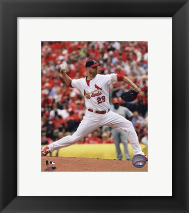 Framed Chris Carpenter 2010 Action Print