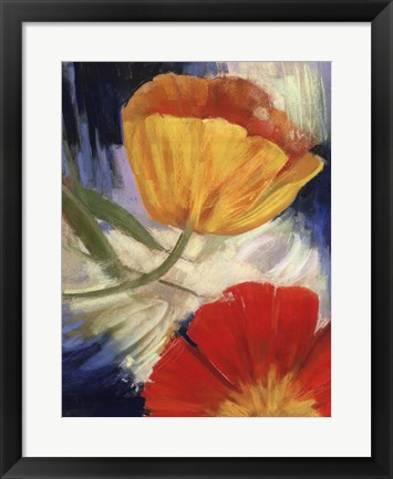 Framed Summer Tulips III Print