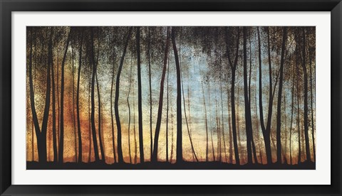 Framed Golden Forest Print