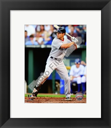 Framed Jacoby Ellsbury 2010 Action Print