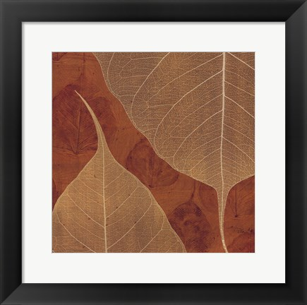 Framed Larger Than Life Spice Handmade II Print