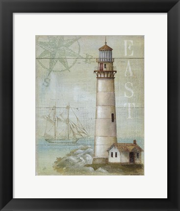 Framed East Coastal Light Print