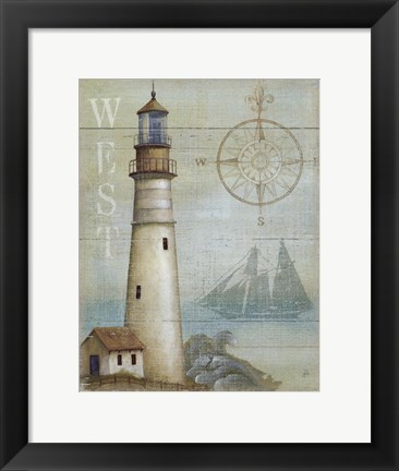 Framed West Coastal Light Print