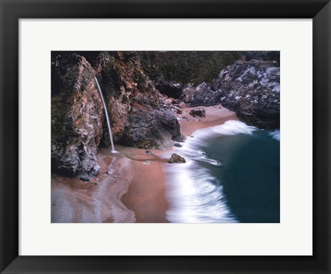 Framed Water Fall Print