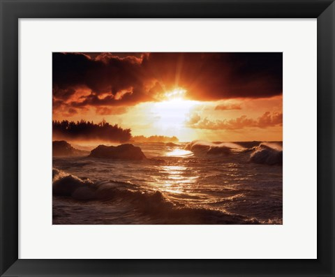 Framed Sunset Print