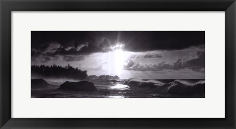 Framed Evening Beauty Print