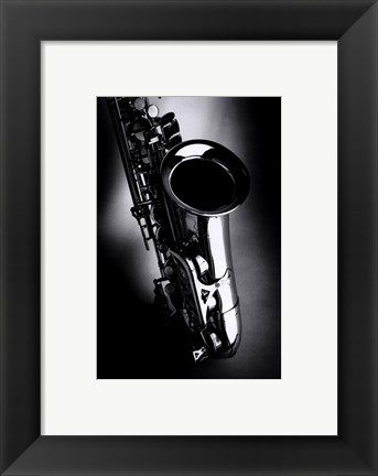 Framed Music 03 Print