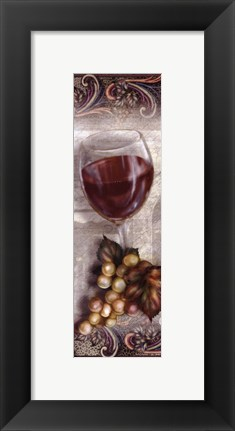 Framed New Wine, Red Print