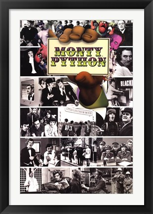 Framed Monty Python - Flying Circus Mosaic Print