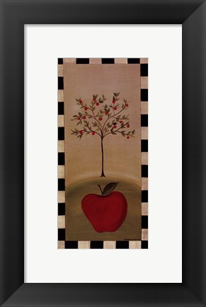Framed Country Apple Print