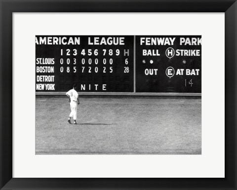 Framed Red Sox- Blow Out Print