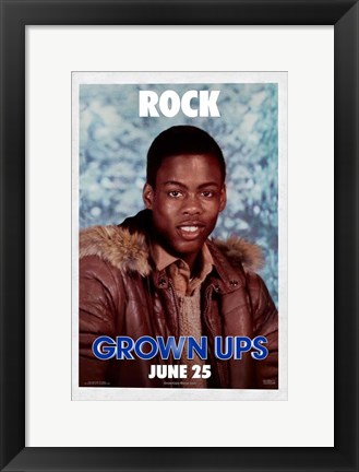Framed Grown Ups - Rock Print
