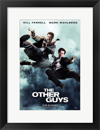 Framed Other Guys Print