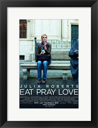 Framed Eat Pray Love - Style B Print