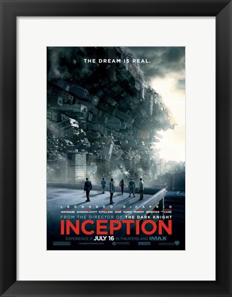 Framed Inception - Style G Print