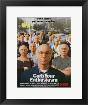 Framed Curb Your Enthusiasm HBO Print