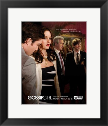 Framed Gossip Girl Two Reputations Destroyed Now For the Second Act Print