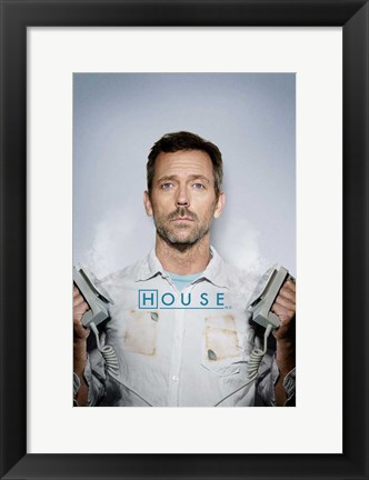 Framed House - doctor Print