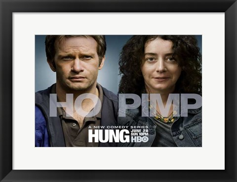 Framed Hung Comedy Series Print