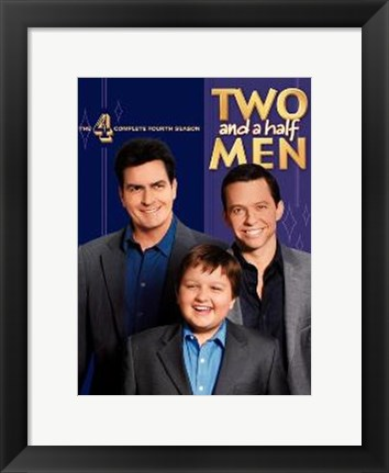 Framed Two and a Half Men Print