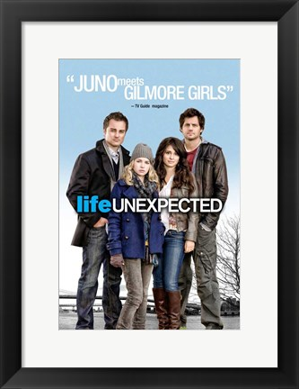 Framed Life Unexpected Print