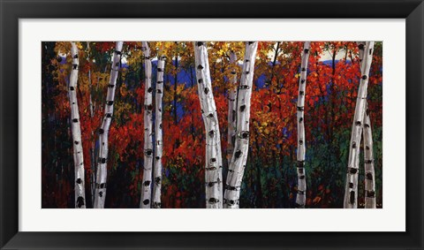Framed Autumn Delight Print
