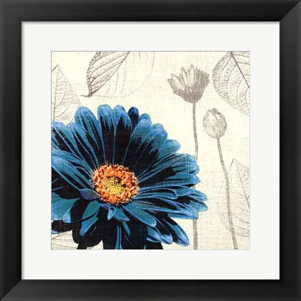 Framed Touch of Color II Print
