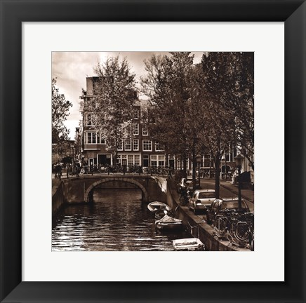 Framed Autumn in Amsterdam IV Print