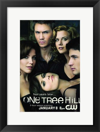 Framed One Tree Hill Print