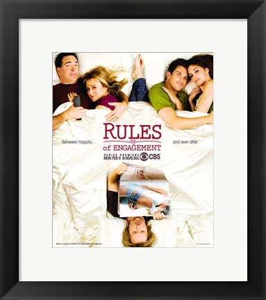 Framed Rules of Engagement (TV) Print