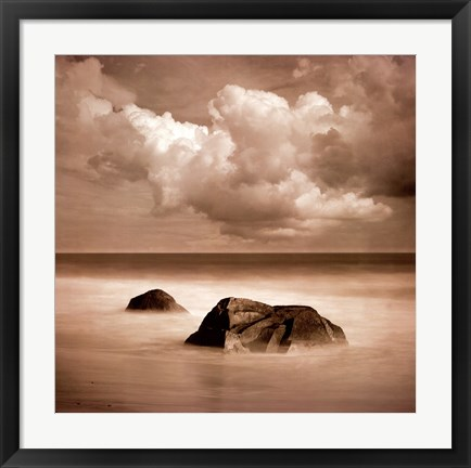 Framed Seascape III Print